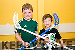 l-r  Odhran Leen and Jack O'Halloran Enjoying the Ogras Summer Camps at Ballyheigue Community Centre on Tuesday