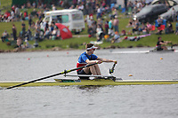 Race: 66  Event: J14 1x   Final A <br /> <br /> Junior Inter Regional Regatta 2018<br /> <br /> To purchase this photo, or to see pricing information for Prints and Downloads, click the blue 'Add to Cart' button at the top-right of the page.