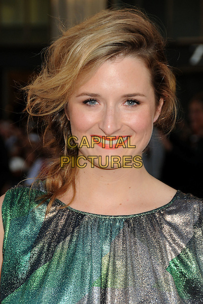 "Grace Gummer.""Larry Crowne"" Los Angeles Premiere held at Grauman's Chinese Theatre, Hollywood, California, USA..June 27th, 2011.headshot portrait green black silver grey gray smiling .CAP/ADM/BP.©Byron Purvis/AdMedia/Capital Pictures."
