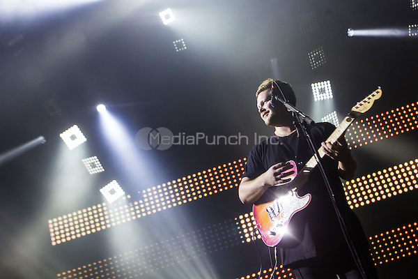 LAS VEGAS, NV - April 13: ***HOUSE COVERAGE***  alt-J performs at The Joint at Hard Rock Hotel & Casino in Las Vegas, NV on April 13, 2015. Credit: Erik Kabik Photography/MediaPunch