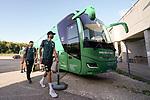 Spieler kommen am Stadion an - Niclas Füllkrug / Fuellkrug (Werder Bremen #11), Milos Veljkovic (Werder Bremen #13)<br /> <br /> <br /> Sport: nphgm001: Fussball: 1. Bundesliga: Saison 19/20: Relegation 02; 1.FC Heidenheim vs SV Werder Bremen - 06.07.2020<br /> <br /> Foto: gumzmedia/nordphoto/POOL <br /> <br /> DFL regulations prohibit any use of photographs as image sequences and/or quasi-video.<br /> EDITORIAL USE ONLY<br /> National and international News-Agencies OUT.