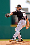 14 March 2006: Ricky Nolasco, pitcher for the Florida Marlins, winds up during a Spring Training game against the Washington Nationals. The Marlins defeated the Nationals 2-1 at Space Coast Stadium, in Viera, Florida...Mandatory Photo Credit: Ed Wolfstein..