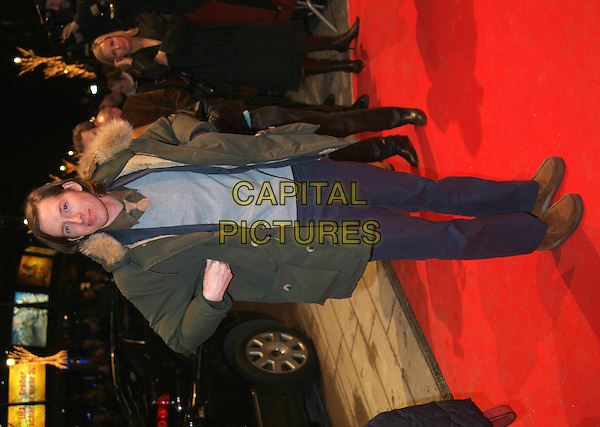 "WES ANDERSON.At Premiere of ""The Life Aquatic"".Berlin International Film Festival,.Berlin, Germany, February16th 2005..full length red carpet.Ref: KRA.www.capitalpictures.com.sales@capitalpictures.com.©Capital Pictures."