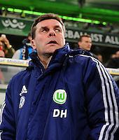 FUSSBALL   1. BUNDESLIGA   SAISON 2012/2013    22. SPIELTAG VfL Wolfsburg - FC Bayern Muenchen                       15.02.2013 Trainer Dieter Hecking (VfL Wolfsburg)