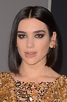 LOS ANGELES, CA - FEBRUARY 05: Dua Lipa at the premiere of 'Alita: Battle Angel'  at Westwood Regency Theater on February 5, 2019 in Los Angeles, California. <br /> CAP/MPI/DE<br /> &copy;DE//MPI/Capital Pictures