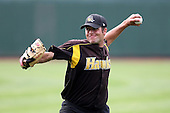 June 13th 2008:  Pitcher Josh Blake of the South Bend Silver Hawks, Class-A affiliate of the Arizona Diamondbacks, during a game at Stanley Coveleski Regional Stadium in South Bend, IN.  Photo by:  Mike Janes/Four Seam Images
