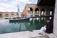 55th Art Biennale in Venice - The Encyclopedic Palace (Il Palazzo Enciclopedico).<br /> Arsenale.<br /> Ragnar Kjartansson (Iceland). &quot;S.S. Hangover&quot;, 2013.