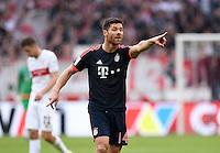 Fussball  1. Bundesliga  Saison 2015/2016  29. Spieltag  VfB Stuttgart  - FC Bayern Muenchen    09.04.2016 Xabi Alonso (FC Bayern Muenchen)