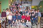 Mary and Patrick McCarthy, Anglish, Ballyhar seated second and third from left who celebrated their 50th wedding anniversary with their family and friends in the Dromhall Hotel Killarney on Saturday..