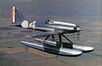 BNPS.co.uk (01202 558833)<br /> Pic: WilliamHosie/BNPS<br /> <br /> Williams father Bill's replica S.5 before the fatal crash in 1987.<br /> <br /> British pilot William Hosie is attempting to build a working replica of the historic S.5 Schneider trophy seaplane, 33 years after his father was killed in an identical aircraft.<br /> <br /> William Hosie, 58, needs to raise £275,000 to construct a unique Supermarine S.5 from scratch, using the original blueprints of the famous aircraft designed by R.J.Mitchelll in the 1920's.<br /> <br /> The project has an added poignancy as his father, Bill Hosie, perished aged 57 flying an identical S.5 replica he'd built over Mylor, Cornwall, in May 1987.<br /> <br /> Once complete, William hopes to fly the unique seaplane at airshows as a reminder of Britain's proud history from the pioneering days of aircraft and as a tribute to his late father.<br /> <br /> The Supermarine S.5 won the prestigious Schneider Trophy in Venice in 1927 with a speed of 281mph. If Will, from Taunton, Somerset, succeeds, his will be the only working Supermarine S5 in the world.