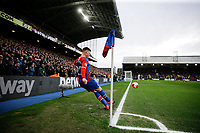 7th March 2020; Selhurst Park, London, England; English Premier League Football, Crystal Palace versus Watford; James McCarthy of Crystal Palace taking a corner kick