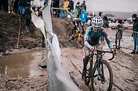 Eli Iserbyt (BEL/Marlux-Bingoal)<br /> <br /> Superprestige cyclocross Hoogstraten 2019 (BEL)<br /> Elite Men's Race<br /> <br /> &copy;kramon