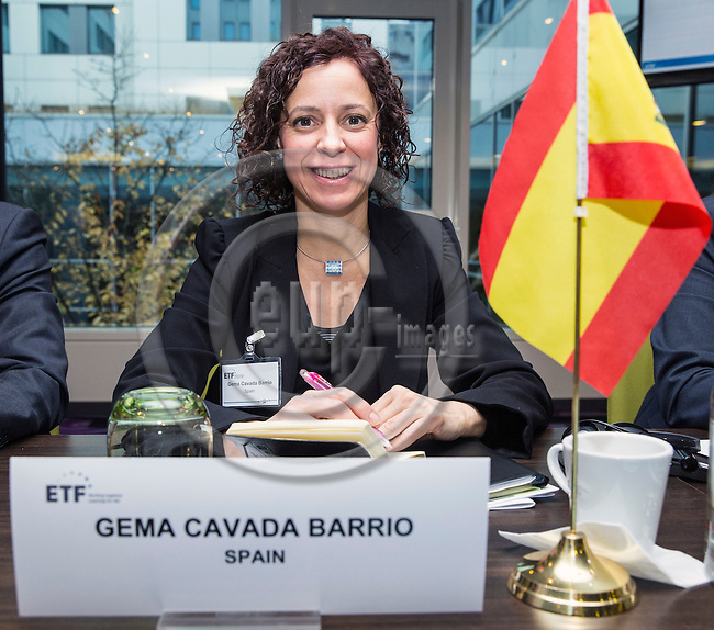 BRUSSELS - BELGIUM - 25 November 2016 -- European Training Foundation (ETF) Governing Board meeting. -- Gema Cavada Barrio, Head of Service Deputy Directorate General for Guidance and VET Ministry of Education, Social Policy and Sport (Spain). -- PHOTO: Juha ROININEN / EUP-IMAGES