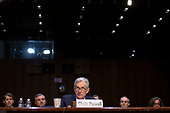 ChairBoard of Governors of the Federal Reserve System Jerome Powell testifies before the U.S. Congress Joint Economic Committee on Capitol Hill in Washington D.C., U.S., on Wednesday, November 13, 2019.<br /> <br /> Credit: Stefani Reynolds / CNP