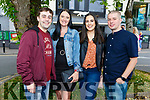 Gary, Hayley, Natalie and Tim Murphy enjoying the evening in Cassidys on Saturday.