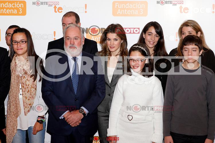 Princess Letizia of Spain attends Antena 3 Foundation meeting. December 03, 2012. (ALTERPHOTOS/Caro Marin) ©/NortePhoto /NortePhoto©