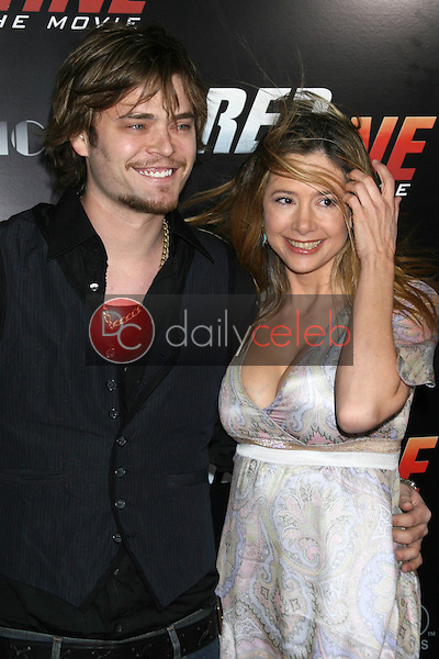 Christopher Backus and Mira Sorvino<br />at the Los Angeles Premiere of &quot;Redline&quot;. Grauman's Chinese Theatre, Hollywood, CA. 04-12-07<br />Dave Edwards/DailyCeleb.com 818-249-4998