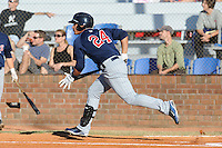 Oswaldo Arcia  during the Appalachian League Championship. Johnson City  won 6-2 at Howard Johnson Field, Johnson City Tennessee. Photo By Tony Farlow/Four Seam Images.
