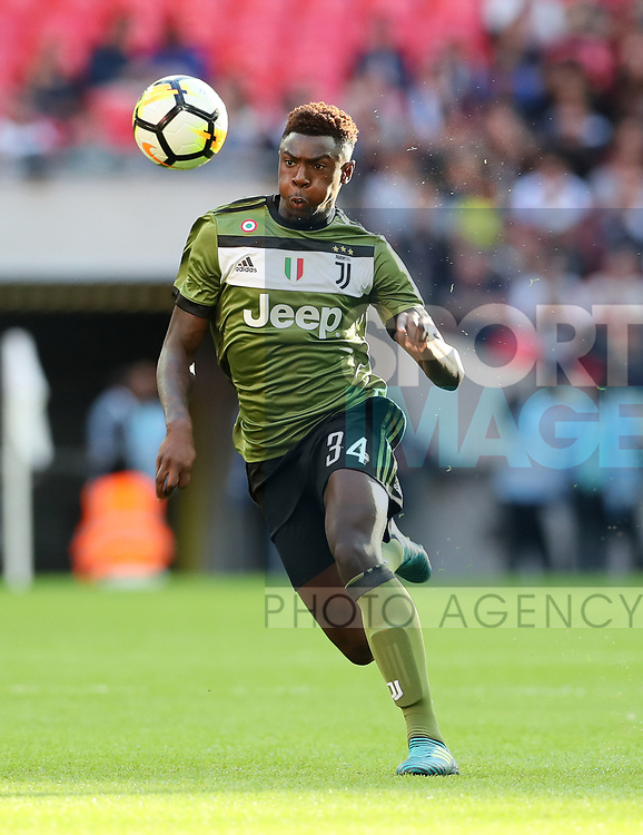 Juventus Moise Kean in action during the pre season match at Wembley Stadium, London. Picture date 5th August 2017. Picture credit should read: David Klein/Sportimage