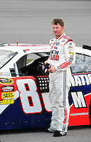 May 1, 2009; Richmond, VA, USA; NASCAR Sprint Cup Series driver Dale Earnhardt Jr during qualifying for the Russ Friedman 400 at the Richmond International Raceway. Mandatory Credit: Mark J. Rebilas-