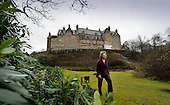 The Blair Estate sale - Caroline Borwick in the grounds – picture by Donald MacLeod 21.2.12 www.donald-macleod.com clanmacleod@btinternet.com