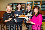 Enjoying the Listowel Emmets GAA Come Dine with Me fundraiser launch night in the GAA Clubrooms on Tuesday night last were Sarah Moriarty, Breda Barry, Karina Buckley, and Orla, Keane.