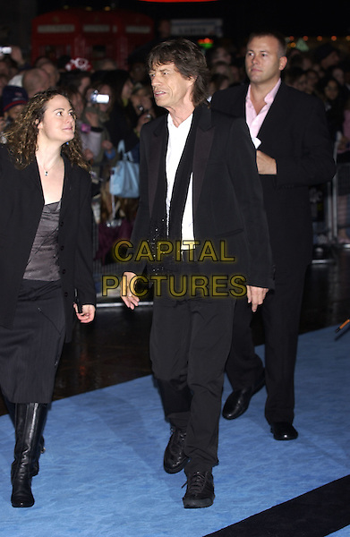 "MICK JAGGER.""Alfie"" film premiere.Empire cinema, Leicester Square.14 October 2004..full length.Ref: PL.www.capitalpictures.com.sales@capitalpictures.com.©Capital Pictures."