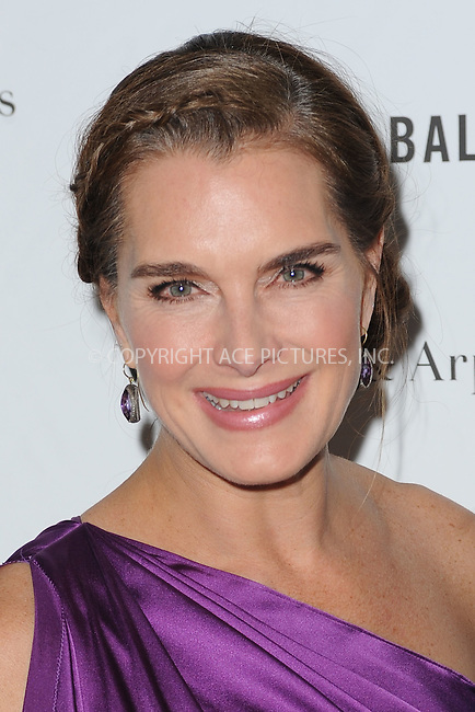WWW.ACEPIXS.COM<br /> April 13, 2015 New York City <br /> <br /> Brooke Shields attending the Tribeca Ball in Manhattan on April 13, 2015 in New York City.<br /> <br /> Please byline: Kristin Callahan/AcePictures<br /> <br /> ACEPIXS.COM<br /> <br /> Tel: (646) 769 0430<br /> e-mail: info@acepixs.com<br /> web: http://www.acepixs.com