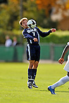 15 October 2008: University of New Hampshire Wildcats' midfielder Brad Hilton, a Freshman from Merrimack, N.H., in action against the University of Vermont Catamounts at Centennial Field, in Burlington, Vermont. The Wildcats and Catamounts battled in overtime to a 0-0 tie...Mandatory Photo Credit: Ed Wolfstein Photo