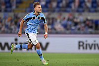 Ciro Immobile of SS Lazio celebrates after scoring the goal of 1-1 during the Serie A football match between SS Lazio and ACF Fiorentina at stadio Olimpico in Roma ( Italy ), June 27th, 2020. Play resumes behind closed doors following the outbreak of the coronavirus disease. Photo Antonietta Baldassarre / Insidefoto