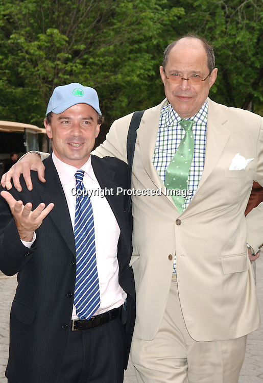 Adrian Penepe and Gordon Davidson ..at The 24th Annual Frederick Law Olmsted Awards Luncheon on May 3, 2006 at The Central Park's Conservatory Garden presented by the Women's Committee of the Central Park Conservancy. ..Robin Platzer, Twin Images