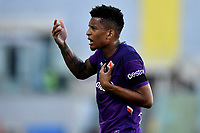 Erick Pulgar of Fiorentina reacts during the Serie A football match between ACF Fiorentina and Brescia Calcio at Artemio Franchi stadium in Florence ( Italy ), June 22th, 2020. Play resumes behind closed doors following the outbreak of the coronavirus disease. <br /> Photo Antonietta Baldassarre / Insidefoto