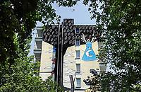 Nederland Amsterdam 2019 . De Bijlmer. Muurschildering in de H-Buurt. Foto Berlinda van Dam / Hollandse Hoogt
