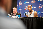 03 APR 2016: Press Conferences during the 2016 NCAA Men's Division I Basketball Final Four Semifinal game held at NRG Stadium in Houston, TX.  Brett Wilhelm/NCAA Photos
