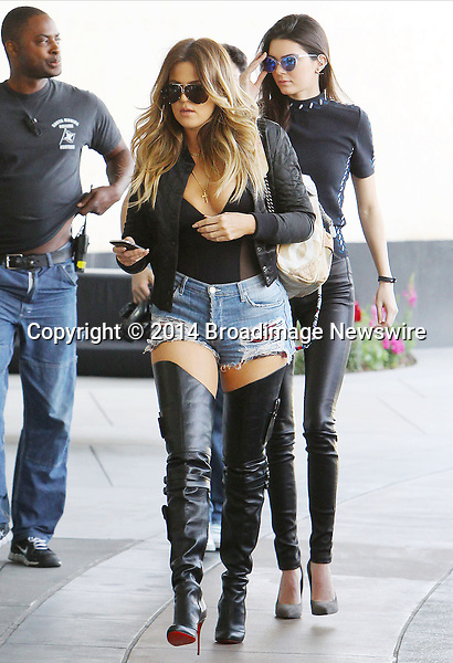 Pictured: Khloe Kardashian, Kendall Jenner <br /> Mandatory Credit &copy; ACLA/Broadimage<br /> Khloe Kardashian arriving at Loews Hollywood Hotel<br /> <br /> 3/7/14, Hollywood, California, United States of America<br /> <br /> Broadimage Newswire<br /> Los Angeles 1+  (310) 301-1027<br /> New York      1+  (646) 827-9134<br /> sales@broadimage.com<br /> http://www.broadimage.com