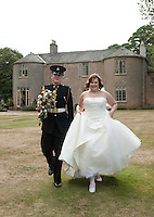 Marriage of Claire Hutchinson and Tom Rice at Cockcliffe House, Nottingham, Monday 22nd August 2011