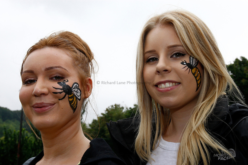 Photo: Richard Lane/Richard Lane Photography. London Wasps v London Irish. Pre Season Friendly. 24/08/2013. Wasps supporters.