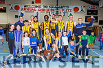 Keanes Supervalu Killorglin celebrate winning Premier Mens final against Tralee Warriors at St Marys Christmas Bastketball blitz on Monday night