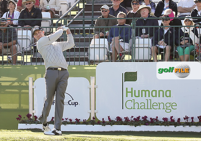 20 JAN 13  Harris English in action during Sunday's Final Round action at The Humana Challenge at PGA WEST in La Quinta, California. (photo:  kenneth e.dennis / kendennisphoto.com)