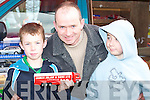 Darragh, Richard and Shane McElligott Tralee at the Vintage rally in Killarney on Sunday   Copyright Kerry's Eye 2008