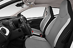 Front seat view of a 2019 Toyota Aygo x-style 5 Door Hatchback front seat car photos