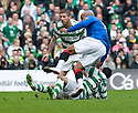 :: CELTIC'S BERAM KAYAL GOES IN LATE ON RANGERS' EL HADJI DIOUF ::