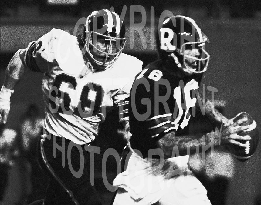Jim Stillwagon Toronto Argonauts 1973. Copyright photograph Scott Grant