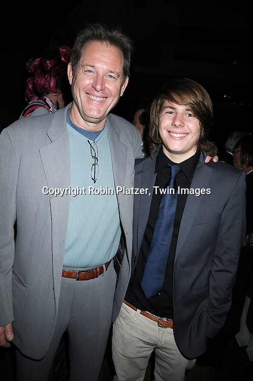 Brian Kerwin and son Finn..at The League for the Hard of Hearing's 16th Annual Feast with Famous Faces Benefit on October 27, 2008 at Pier Sixty at Chelsea Piers.....Robin Platzer, Twin Images