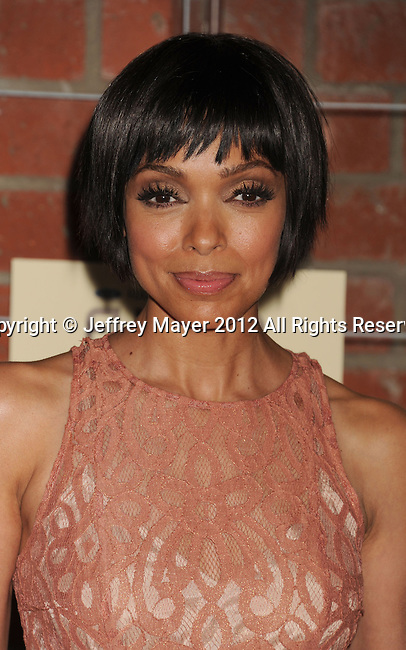 =Culver City=, CA - SEPTEMBER 10: Tamara Taylor arrives at the FOX Fall Eco-Casino Party at The Bookbindery on September 10, 2012 in Culver City, California.