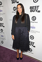 LOS ANGELES, CA - NOVEMBER 8: Rosario Dawson at the Eva Longoria Foundation Dinner Gala honoring Zoe Saldaña and Gina Rodriguez at The Four Seasons Beverly Hills in Los Angeles, California on November 8, 2018. Credit: Faye Sadou/MediaPunch
