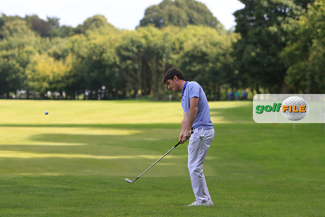 Dermot McElroy (NIR) on the 10th fairway during Round 1 of the Northern Ireland Open at Galgorm Castle Golf Club, Ballymena Co. Antrim. 10/08/2017<br /> Picture: Golffile | Thos Caffrey<br /> <br /> <br /> All photo usage must carry mandatory copyright credit     (&copy; Golffile | Thos Caffrey)