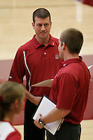 17 Sep 2005: Jason Mansfield during Stanford's 3-0 win over UCSB at Maples Pavilion in Stanford, CA.