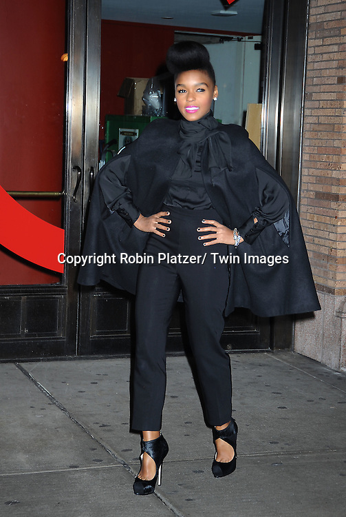 Janelle Monae attending The Glamour Magazine 20th Annual Women of the Year on November 8, 2010 at Carnegie Hall in New York City.