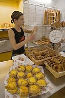 France/2A/Corse du Sud/Bonifacio:Etal de la boulangerie Fabi ,Beignets au Bruccio,Pain des morts, [Non destiné à un usage publicitaire - Not intended for an advertising use]